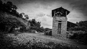 De oude baksteen productieoven Stock Fotografie