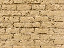 De oude Bakstenen muur van Adobe Royalty-vrije Stock Afbeelding