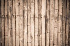 De oude bamboemuur royalty-vrije stock fotografie