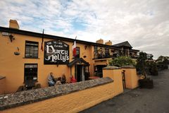 De oude Bar van Durty Nelly in Bunratty, Ierland Royalty-vrije Stock Afbeelding