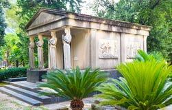 De oude begraafplaats Stock Foto