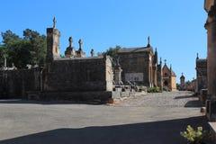 De oude begraafplaats van de Provence stock foto