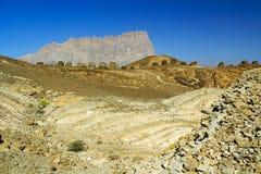 De oude Bijenkorfgraven in Jabal Westelijke Misht royalty-vrije stock afbeelding