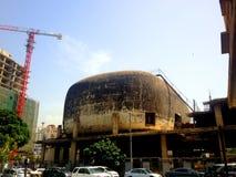 De oude bioskoopbouw, Beiroet, Libanon Royalty-vrije Stock Afbeeldingen