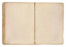 De oude Blanco pagina's van het Boek Stock Foto's