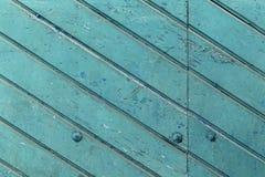 De oude blauwe houten textuur met natuurlijke patronen royalty-vrije stock foto