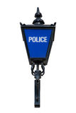 De oude Blauwe Lamp van de Politie Royalty-vrije Stock Afbeeldingen