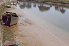 De oude boot Stock Fotografie