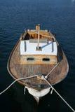 De oude boot van de visser Stock Foto's