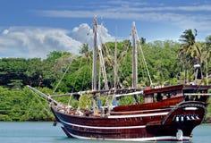 De oude boot van het manierzeil royalty-vrije stock afbeeldingen