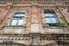 De oude bouw Royalty-vrije Stock Foto's