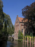 De oude bouw in Amersfoort Royalty-vrije Stock Afbeelding