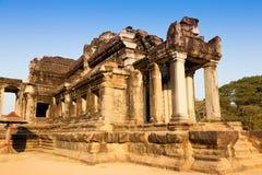 De oude bouw in Angkor Wat Royalty-vrije Stock Afbeeldingen