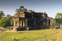 De oude bouw in Angkor Wat stock afbeeldingen