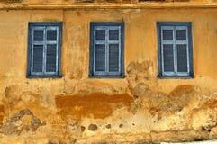De oude bouw in Athene Stock Afbeeldingen
