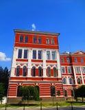 De oude bouw in barokke stijl, Kamenets Podolskiy, de Oekraïne stock afbeeldingen