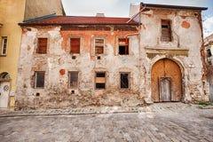 De oude bouw in Bratislava Royalty-vrije Stock Afbeeldingen
