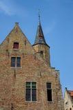De oude bouw in Bruge Stock Foto's