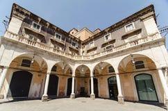 De oude bouw in Catanië Stock Foto