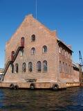 De oude bouw - Copenhagem Denemarken Stock Foto's