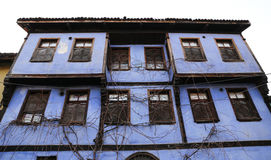 De oude Bouw in Cumalikizik-Dorp, Slijmbeurs, Turkije Royalty-vrije Stock Afbeelding