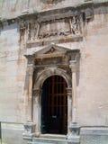 De oude bouw in Dubrovnik stock afbeeldingen