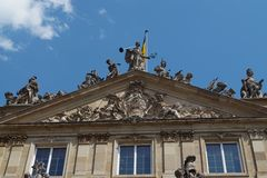 De oude bouw in Duitsland stock afbeeldingen