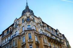 De oude bouw in het oude centrum van Sofia, Royalty-vrije Stock Foto's