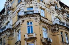 De oude bouw in het oude centrum van Sofia, Royalty-vrije Stock Fotografie