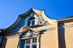 De oude bouw in het oude centrum van Sofia, Stock Afbeeldingen