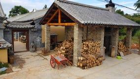 De oude Bouw Jianshui, Yunnan, China royalty-vrije stock foto