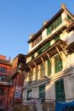De oude bouw - Katmandu, Nepal Royalty-vrije Stock Afbeeldingen