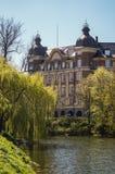 De oude bouw in Kopenhagen Royalty-vrije Stock Afbeelding