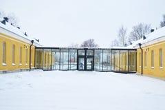 De oude bouw in Lappeenranta, Finland Stock Afbeeldingen