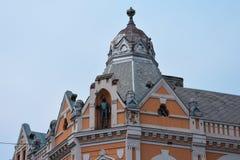 De oude Bouw in Novi Sad Stock Afbeeldingen