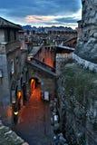 De oude bouw in Rome Royalty-vrije Stock Foto's