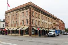 De oude bouw in Savanne, Georgië Royalty-vrije Stock Foto's
