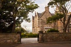 De oude bouw in St Andrews, Schotland, het UK Royalty-vrije Stock Afbeelding