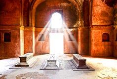 De oude bouw of structuur of gedenkteken of paleis Stock Foto
