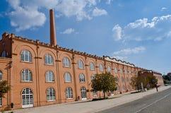 De oude bouw van de Fabriek royalty-vrije stock foto