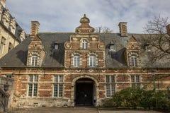 De oude bouw van de Parkabdij dichtbij Leuven Stock Afbeeldingen