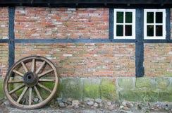 De oude Bouw van het Landbouwbedrijf Royalty-vrije Stock Afbeelding