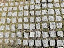 De oude bouw van de steengang royalty-vrije stock afbeeldingen