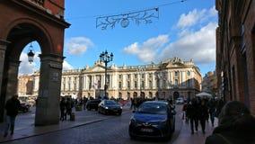 De oude bouw van Toulouse Frankrijk Stock Afbeelding