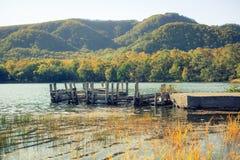 De oude brug Royalty-vrije Stock Afbeeldingen
