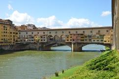 De oude brug, Florence Royalty-vrije Stock Afbeeldingen