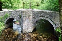 De oude brug van het land Royalty-vrije Stock Afbeelding