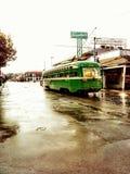 De oude bus van San Francisco stock fotografie