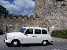 De oude Cabine van de Taxi Royalty-vrije Stock Afbeeldingen
