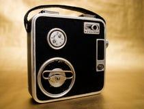 De oude Camera van de Film van 8mm Royalty-vrije Stock Foto's